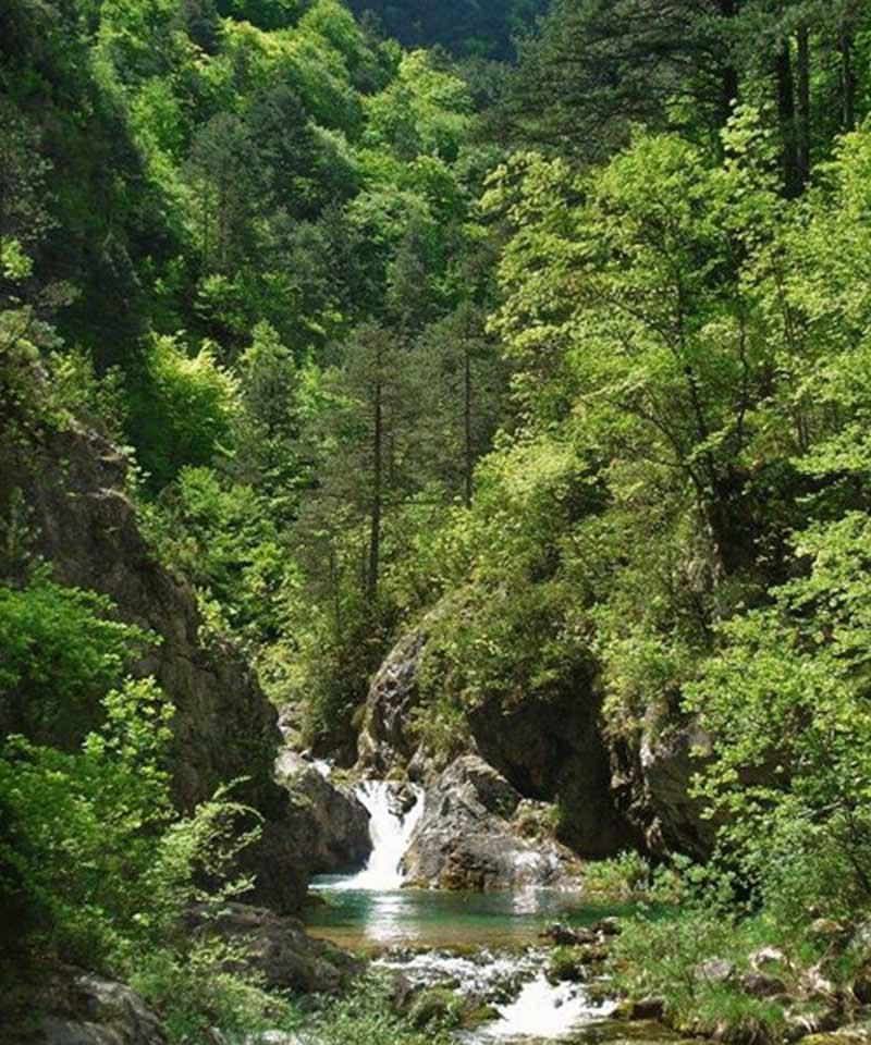 Mount Olympus, Enipeas Gorge